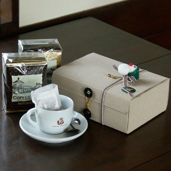 画像1: たんぽぽドリップパックコーヒー 化粧箱入20袋 (1)